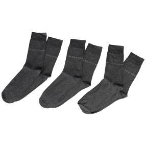 U.S. POLO ASSN. 3er Pack Socken anthrazit