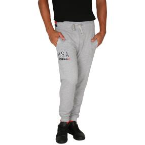 U.S. POLO ASSN. Herren-Sweat-Hose grau