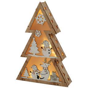 LED-Baum Schneemann
