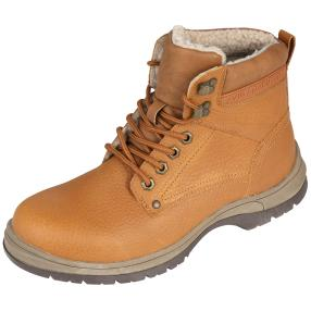 SANITAL LIGHT Herren-Lederboots braun