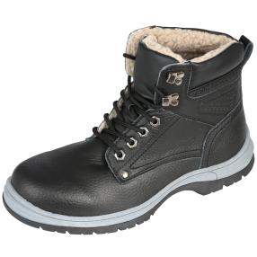 SANITAL LIGHT Lederboots schwarz
