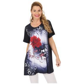 Oversize-Damen-Shirt 'Carmona' marine
