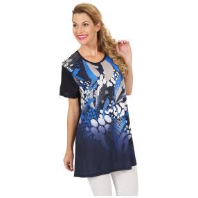 Oversize-Damen-Shirt 'Olvera' marine