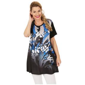 Oversize-Damen-Shirt 'Olvera' schwarz