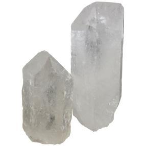 Bergkristallspitzen 2er Set, 150 & 250 g