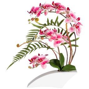 Orchideenarrangement pink. 50 cm