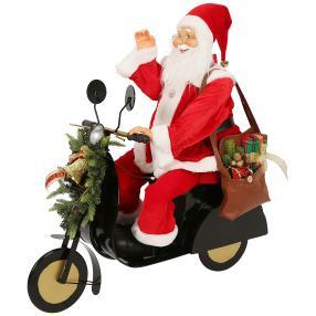 XL-Weihnachtsmann Motorrad