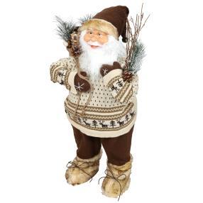 Weihnachtsmann Johanson, beige-braun