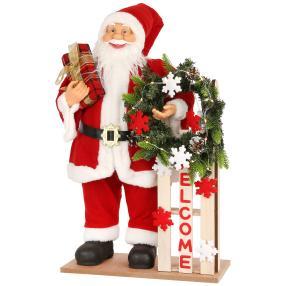Weihnachtsmann Schlitten 60cm