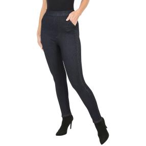 Antonio Lady-Leggings 'Diamonds I' schwarz