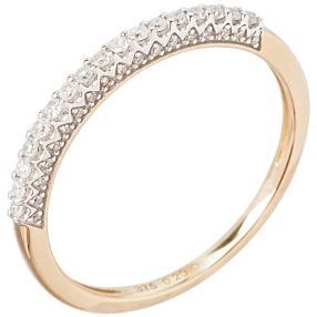 Ring 375 Gelbgold Diamant