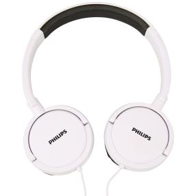Philips On-Ear-Headphone weiß