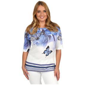 BRILLIANTSHIRTS Shirt 'Springtime' multicolor