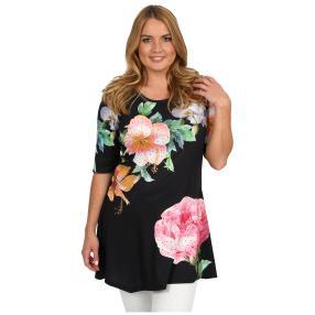 BRILLIANTSHIRTS Shirt 'Roses' multicolor