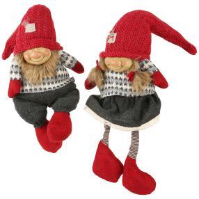 Weihnachts-Gnome 2er-Set