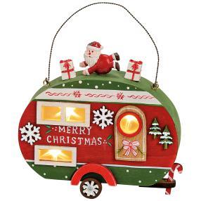 Wohnwagen Merry Christmas