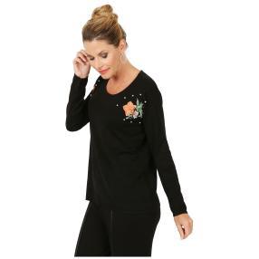 MILANO Design Pullover 'Milazzo' schwarz