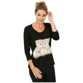 MILANO Design Pullover 'Carino' schwarz/grau/rot