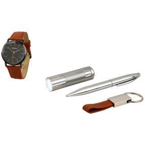 Persopolis Geschenkset mit Uhr, 4-teilig