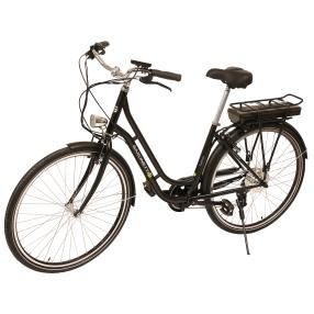 SAXONETTE E-Bike Fashion schwarz matt