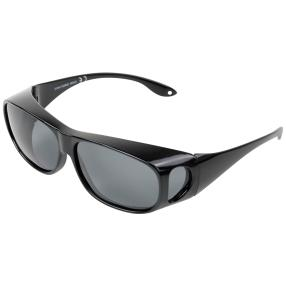 Sonnenüberbrille mit austauschbaren Gläsern