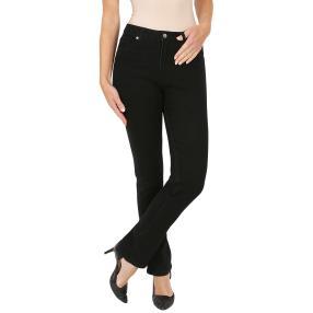 Jet-Line Damen-Jeans 'High Black' black