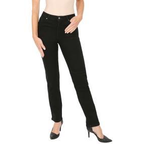 "Jet-Line Damen-Jeans ""Black Python"" black"