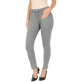 Jet-Line Damen-Jeans 'Sheer Grey' light grey
