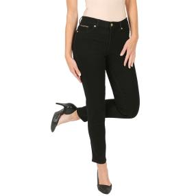Jet-Line Damen-Jeans 'Copper Blush' black