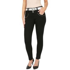 "Jet-Line Damen-Jeans ""Outer Space"" black"