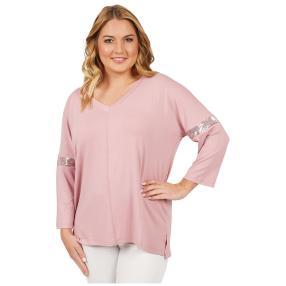 ManouLenz Shirt 'Lara' rosenholz