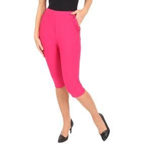 Capri-Hose 'Nizza' mit Bambusfasern pink