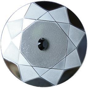 Münze Schwarzer Diamant