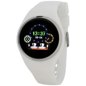 Atlanta Smartwatch 9703/0 mit Touchdisplay, weiß
