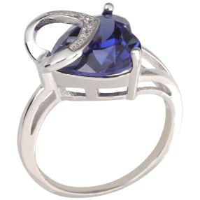 "Ring Zirkonia 925 Silber ""Tansanit"""