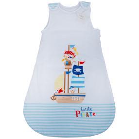 baby best Schlafsack 90cm, blau-weiß, Pirat