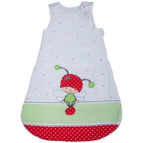 baby best Schlafsack 90cm, rot-weiß, Käferchen