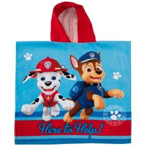 baby best Poncho, Paw Patrol, blau