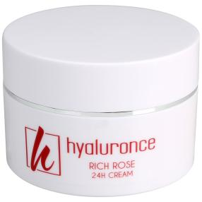 hyaluronce Rich Rose 24h Cream 50 ml