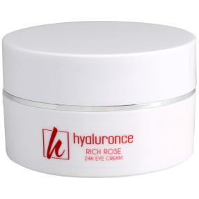 hyaluronce Rich Rose 24h Augencreme 15 ml
