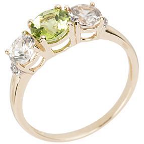 Ring 375 Gelbgold Peridot
