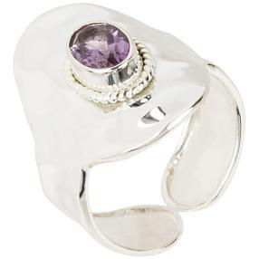 Ring 925 Sterlingsilber Amethyst