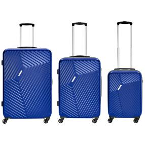 Trolley-Set 3-teilig Lamonza Sonderedition blau