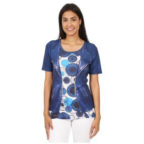 BRILLIANTSHIRTS Shirt 'Jolina' multicolor