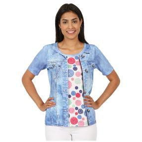 BRILLIANTSHIRTS Shirt 'Joyce' multicolor