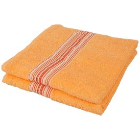 Duschtuch 2er-Set orange