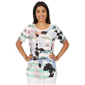 BRILLIANTSHIRTS Shirt 'Janet' multicolor