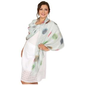 Schal Made in Italy mint geschmückt