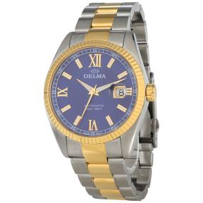 "DELMA Herrennuhr ""Sea Star Automatic"" blau"