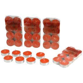 Duft-Teelichter 40er Orange & Zimt